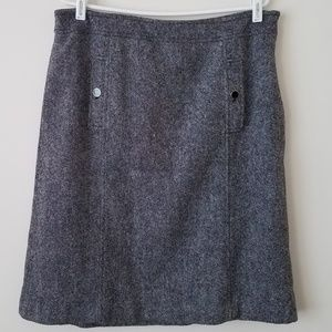 NWT Talbots Tweed Wool Blend Pencil Skirt